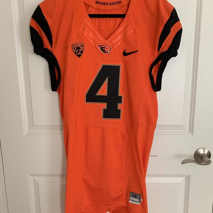 newest a2b1a efacc Nike GAME ISSUED Oregon State Beavers College Football Jersey #4 ALBERG