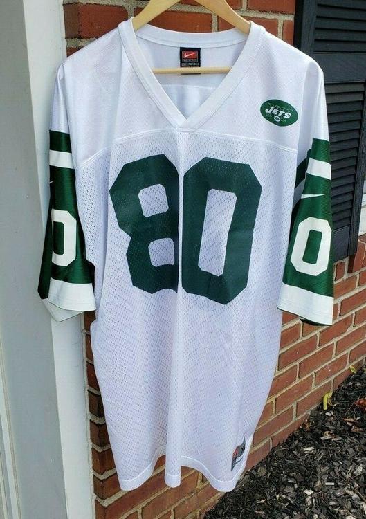 check out aac9a 07968 VTG New York Jets Wayne Chrebet Nike Jersey Sz. XL #80 90s NY Hofstra