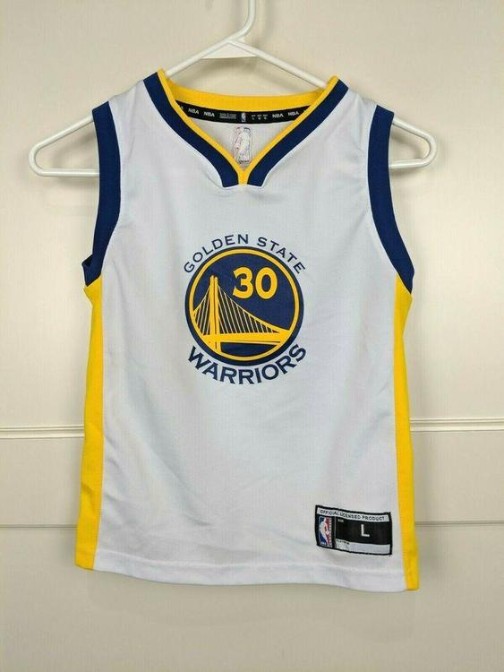 quality design 5374f 98add Golden State Warriors Steph Curry #30 Adidas Jersey Youth Size: L