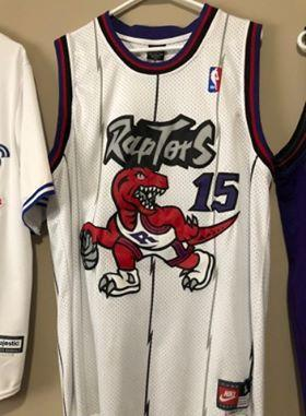 info for 7f488 6c151 Throwback replica Toronto Raptors Vince Carter Nike Jersey XL