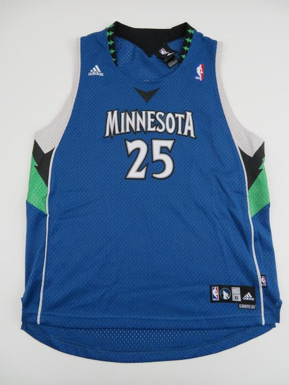 reputable site a11a6 b1448 Adidas Boys Al Jefferson Minnesota Timberwolves NBA Jersey Youth XL 16/18  Small Swingman Authentic