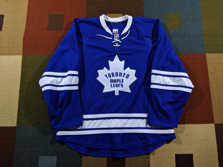 online store 75896 bb9b6 Toronto Maple Leafs 2011-16 Alternate Third Reebok Edge 2.0 Authentic  Jersey 58