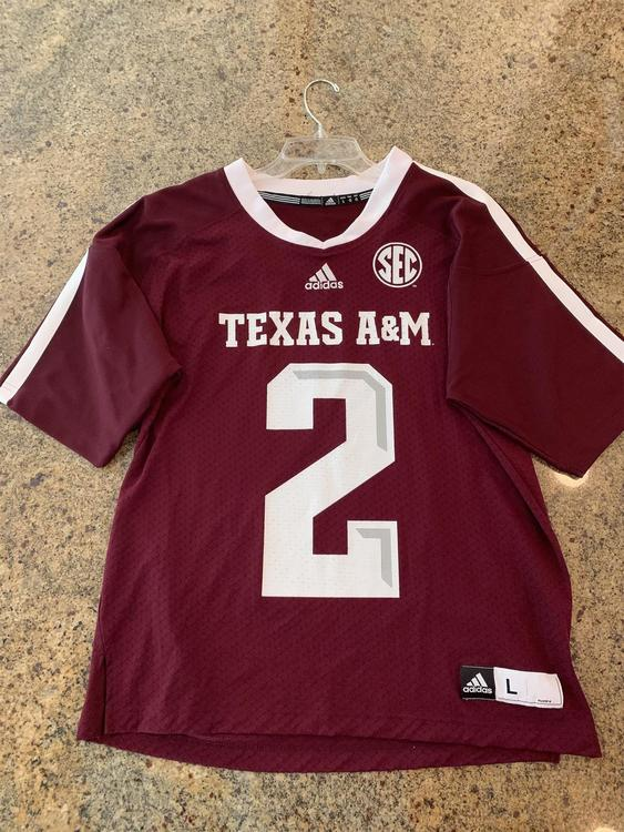 new product 14780 778c0 Texas A&M Football Jersey #2