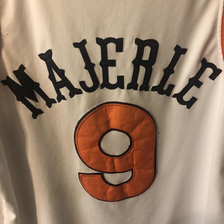 new york 175a3 e4ba6 Phoenix Suns Dan Majerle Throwback Mitchell & Ness Jersey (Size L)