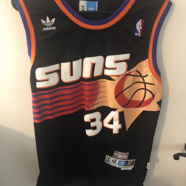 best sneakers 2a6ff 29e5b Charles Barkley Phoenix Suns Swingman Jersey (Size M)
