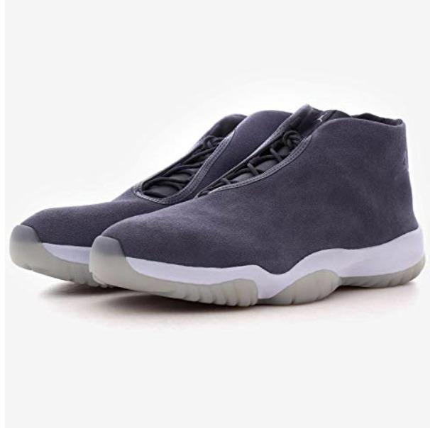 dla całej rodziny wyprzedaż ze zniżką zamówienie Mens NIKE AIR JORDAN FUTURE Grey Trainers AT0056 002 UK 10 US 11 EU 45