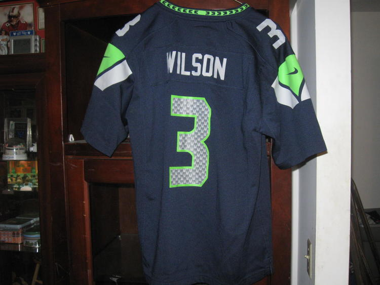 online retailer cf6fd ffdfb SEAHAWKS RUSSELL WILSON YOUTH HOME JERSEY(L14/16)