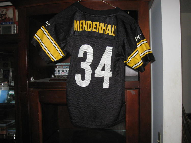 outlet store dc6df c18f1 STEELERS RASHARD MENDENHALL YOUTH HOME JERSEY(M 5/6)