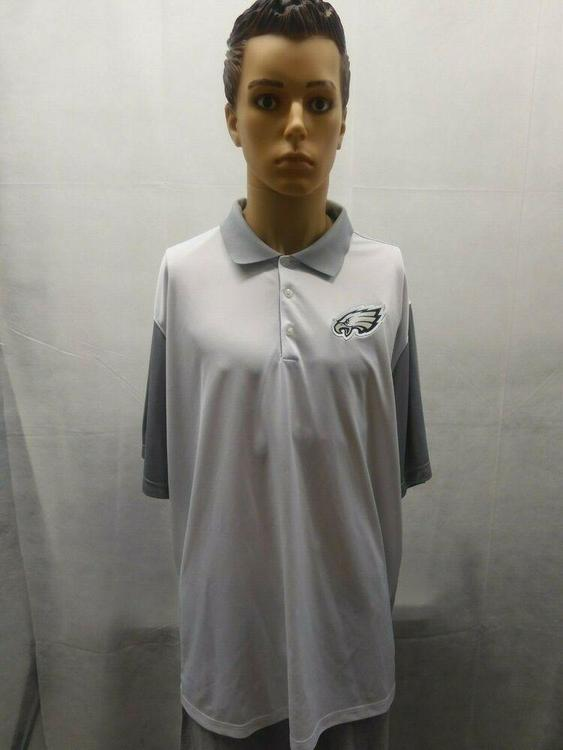 huge selection of 1a48e bcea6 Nike 3XL Philadelphia Eagles Dri Fit Polo White NFL
