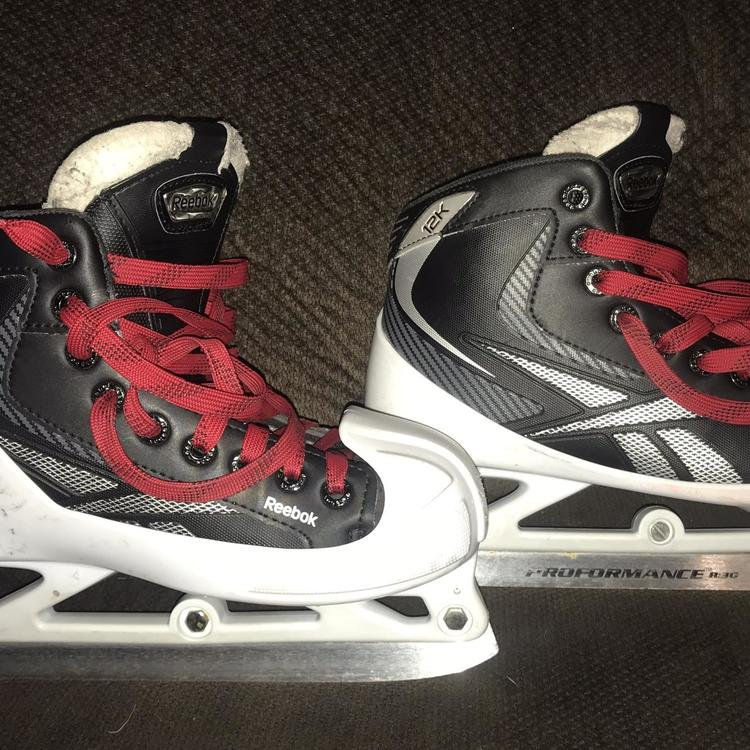 12K Hockey Goalie Skates Junior Size 4