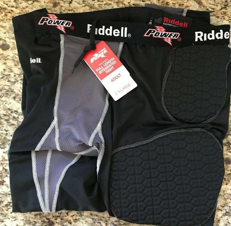 2X-Large Power Tight Riddell Adult Integrated 5-Piece Padded Pant #2715