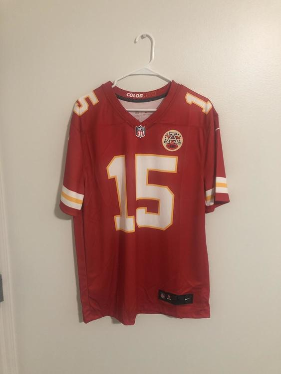 timeless design f1f9a 59682 Patrick Mahomes Nike Jersey Adult