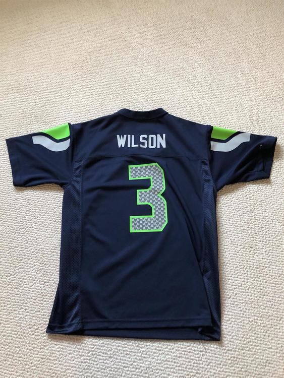 more photos ef5d7 052d1 YOUTH LARGE RUSSELL WILSON JERSEY