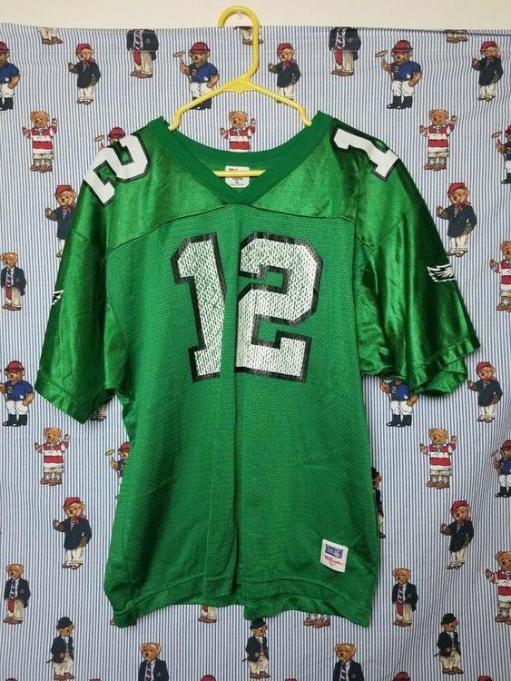 the best attitude b71aa f265b Vintage Wilson NFL Philadelphia Eagles Randall Cunningham #12 Jersey YTH XL