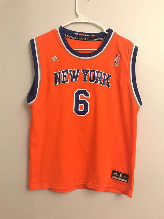 sneakers for cheap d55ff ce134 Kristaps Porzingis New York Knicks Jersey