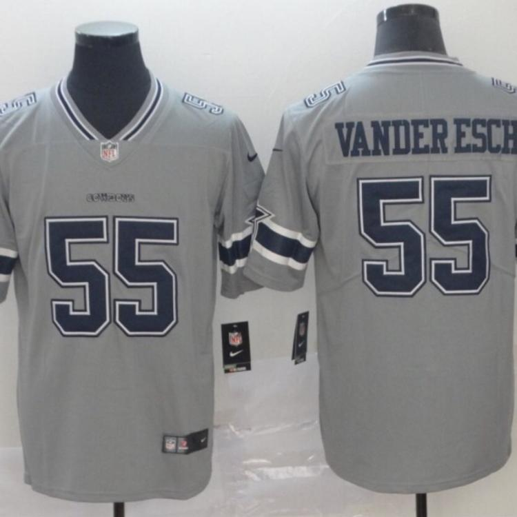 super popular d180c d81c9 NWT Men's Dallas Cowboys Vander Esch 55 Fully Stitched NFL Jersey