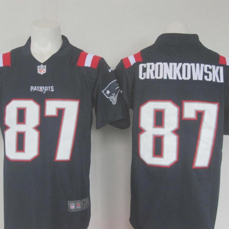 the best attitude e0d7f 35aad NWT Men's Patriots Gronkowski 87 Fully Stitched NFL Jersey