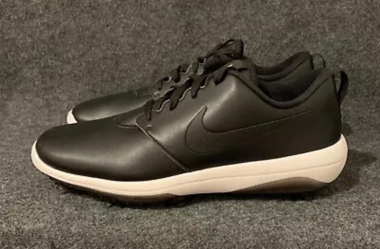 Nike Roshe G Tour Men S Ar5580 001 Black Summit White Size 9 5 Removed Golf Shoes Sidelineswap