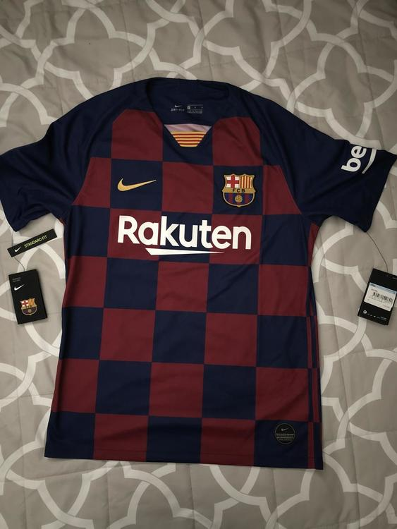 size 40 160d9 855f9 New FCB 2019 Home Jersey - Messi 10