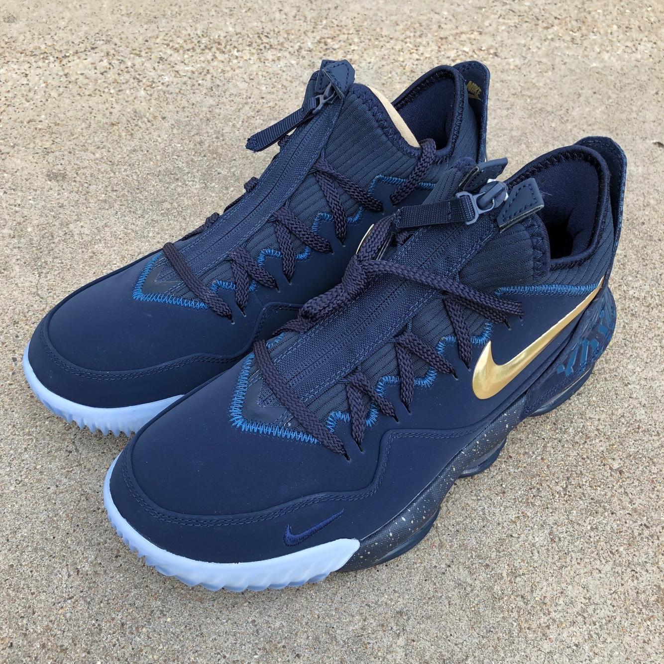 Nike Titan's LeBron 16 Low 'Agimat' sz