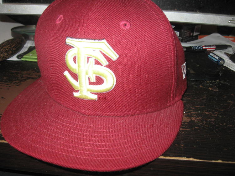 Florida State Seminoles Fitted Hat 7 Embrioded