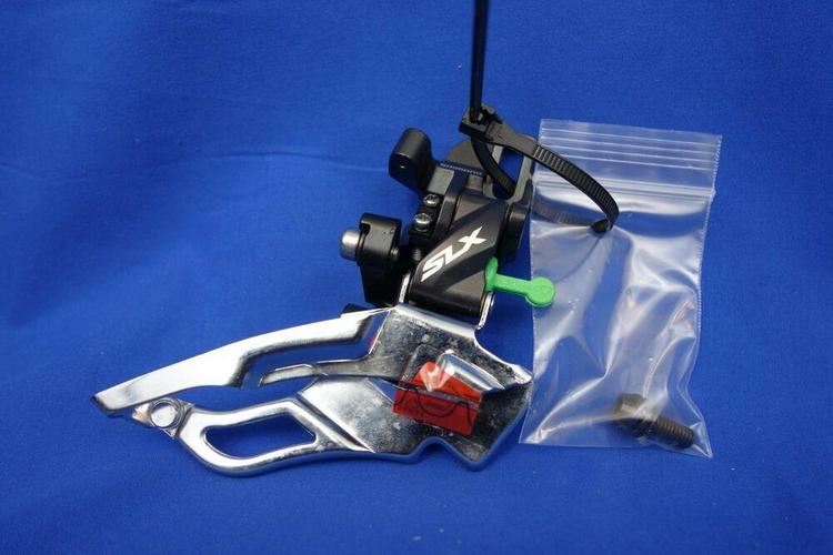 NEW Shimano SLX FD-M671 Direct Mount Front Derailleur 3x10 Speed Top Pull