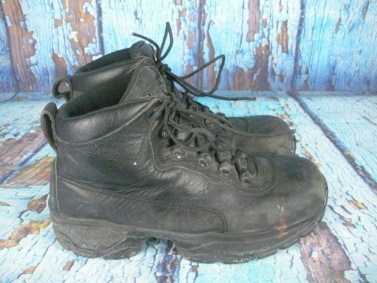 RED WING #6680 TruHiker Black Leather 5
