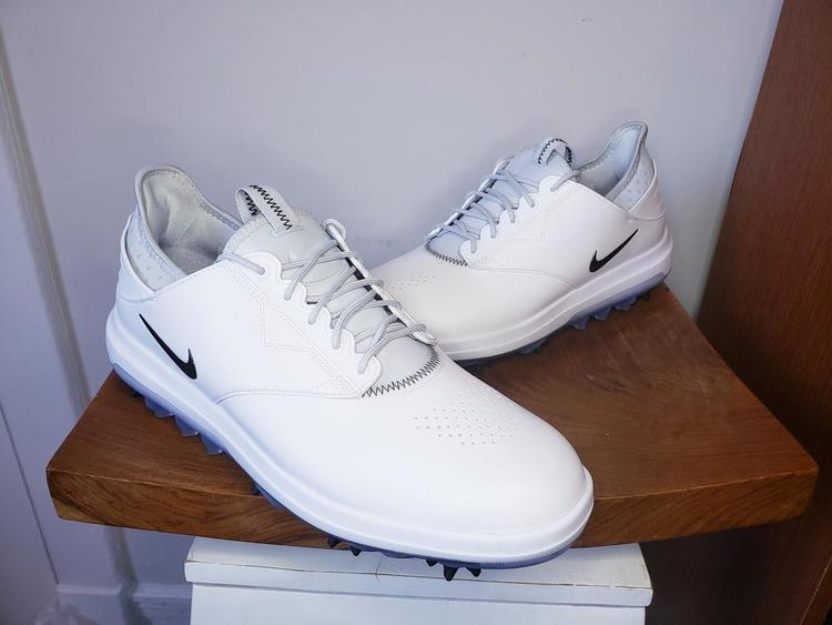 Nike Air Zoom Direct Golf ShoesSpikes White Size 11 (WIDE) 923966 100