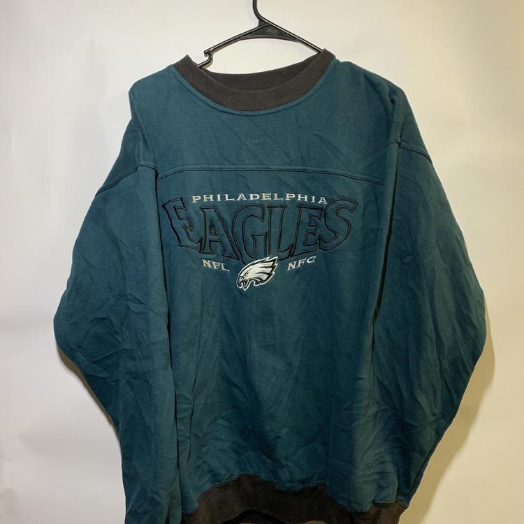 timeless design 6215c 2b0e8 Vintage 90's Lee Sport Philadelphia Eagles Sweatshirt Size XXL