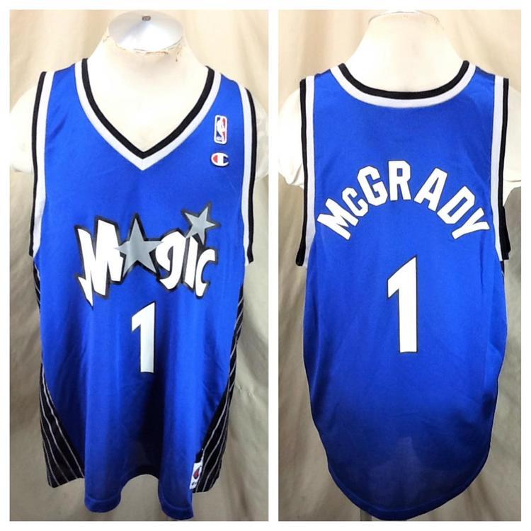 New Men/'s Orlando Magic #1 Tracy McGrady Basketball Jerseys
