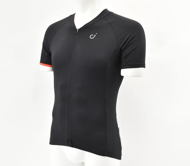 Velocio Men/'s Signature Short Sleeve Jersey XL Black Brand New