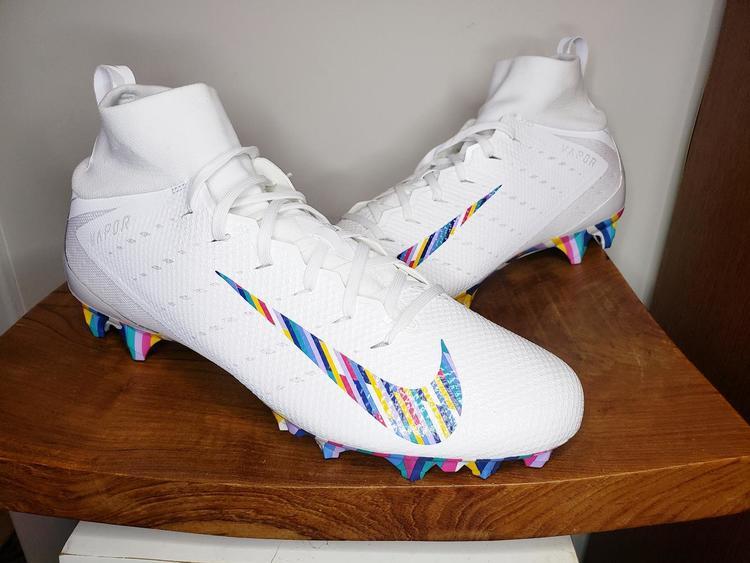 half off a62e8 58555 Nike Vapor Untouchable Pro 3 CRC NFL Football Cleats Mens Size 13