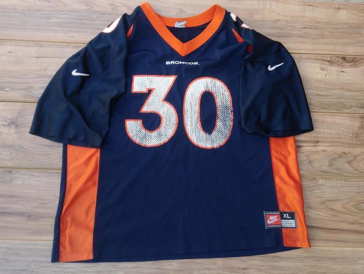 new style 26deb 8422c Terrell Davis Denver Broncos NFL Nike 90's Vintage Football Jersey Size  Adult XL