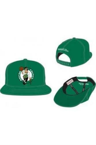 Mitchell /& Ness Gorra Wool Solid Boston Celtics Negro