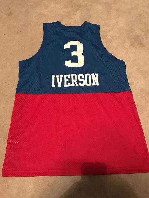 new product 990bf 67109 Nike Allen Iverson Philly Jersey
