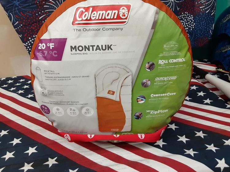 Coleman Montauk Sleeping Bag 138782