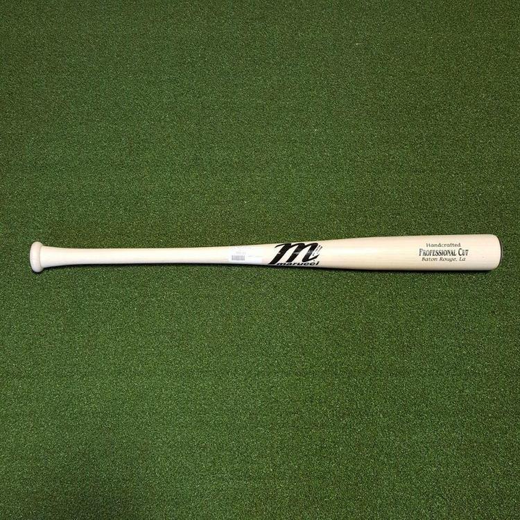 Marucci Professional Cut 32 Inch Custom Maple Wood Baseball Bat Procut Whitewash