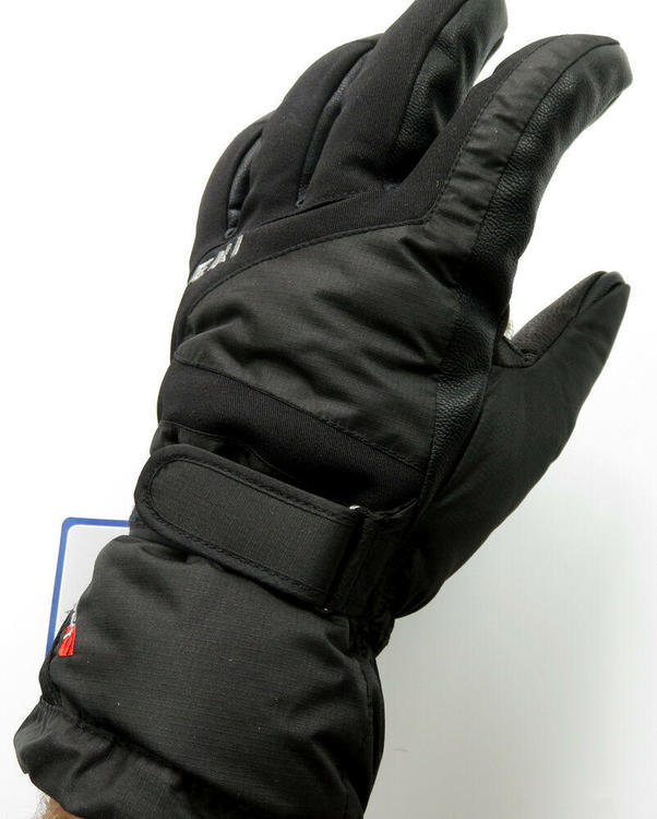 NEW $100 Leki Scope S Soft Tec Waterproof Insulated Ski Gloves Winter Mens Black