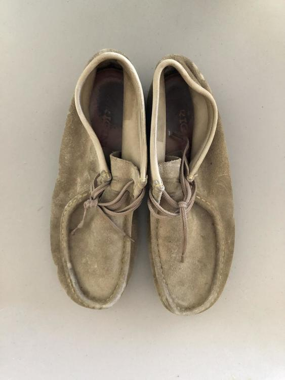 Clarks Walabees High Top Shoes