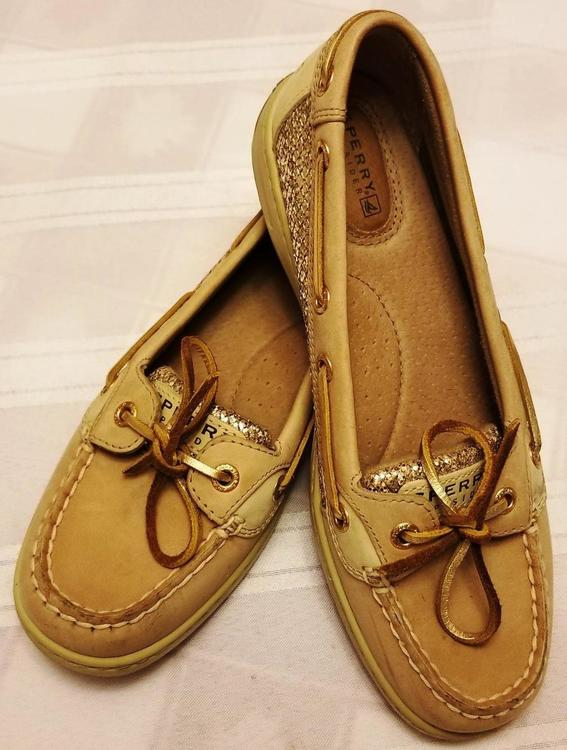 Nwob Womens Sperry Angelfish Boat Shoes Size 7m