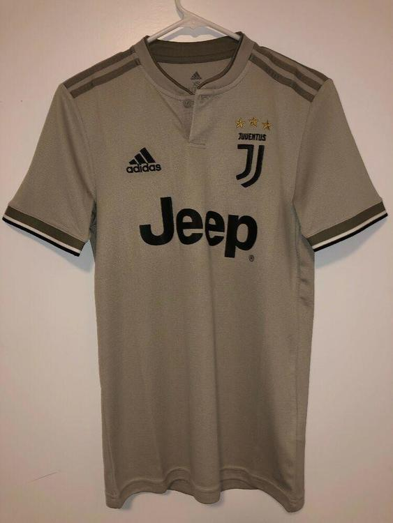Juventus Away Football Soccer Jersey Tan 20182019 Adidas Size XS BRAND NEW