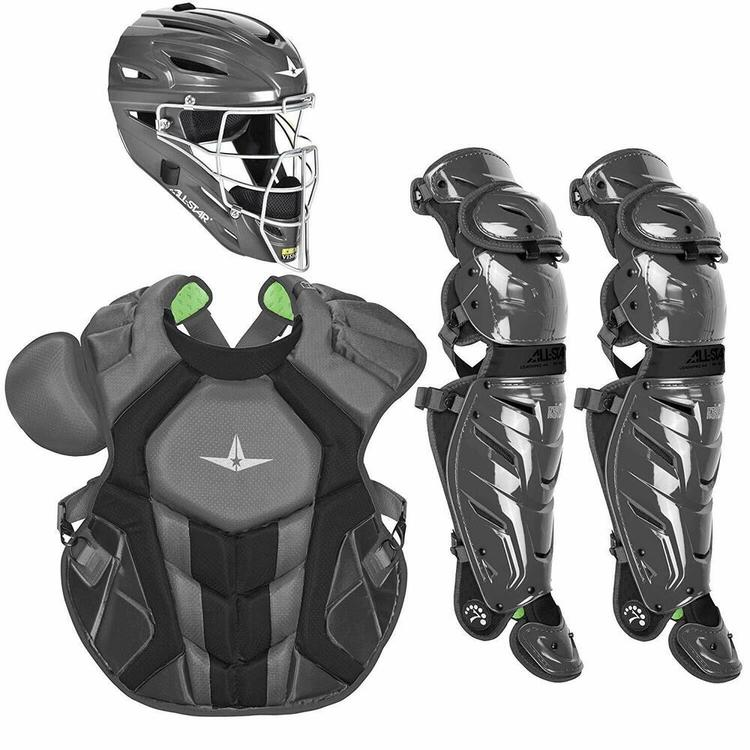All Star System 7 Axis Adult 16 Catchers Gear Set Nocsea Ckccpro1x Graphite No Trade