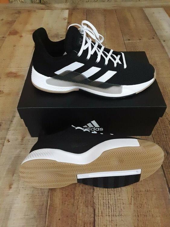 Adidas Pro Bounce Madness Low 2019 Black White Basketball Shoes Mens 8.5  BB9280