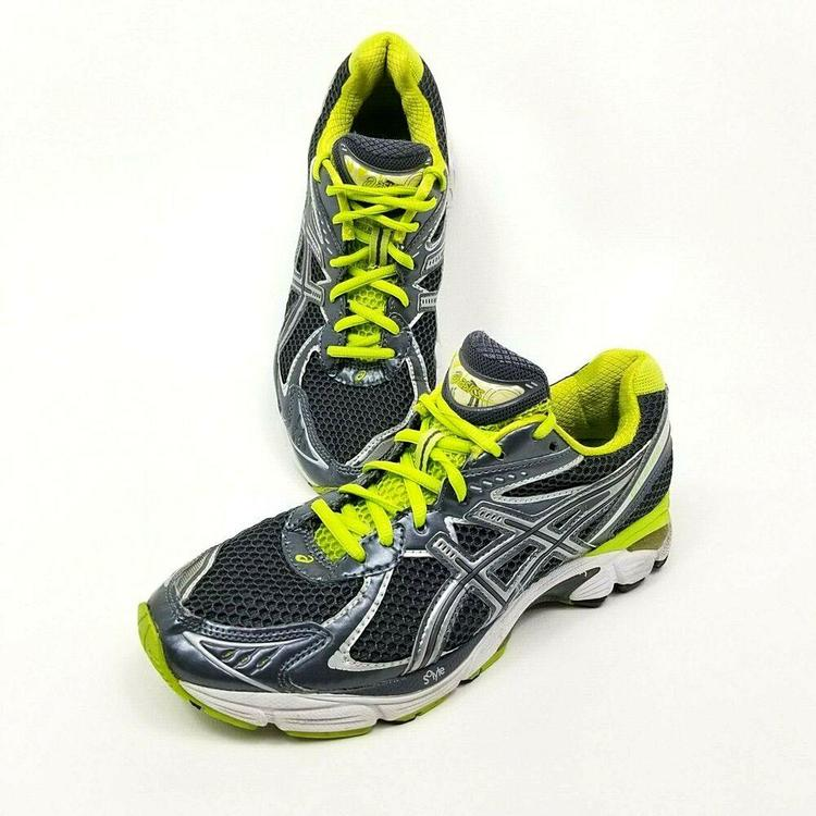 Asics Gel GT 2160 Womens Running Shoes Sneakers T154N Size 8.5 Grey Gray Green | Footwear Turfs, Indoor, Sneakers & Training | SidelineSwap