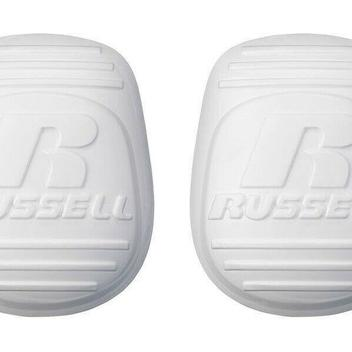 Russell Athletic Football Adult Men/'s 4-Piece Pad Set Thigh Pads /& Knee Pads