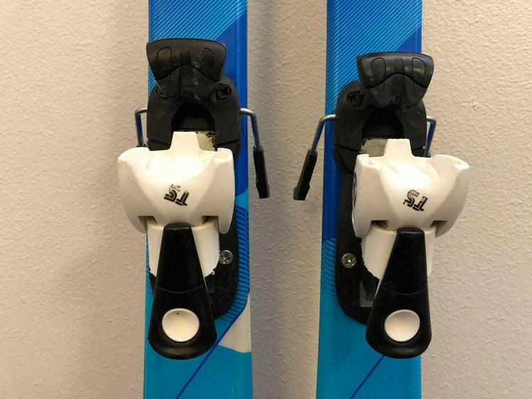 Dynastar Cham Team Jr Junior Downhill Skis 120 cm Salomon Bindings boys girls