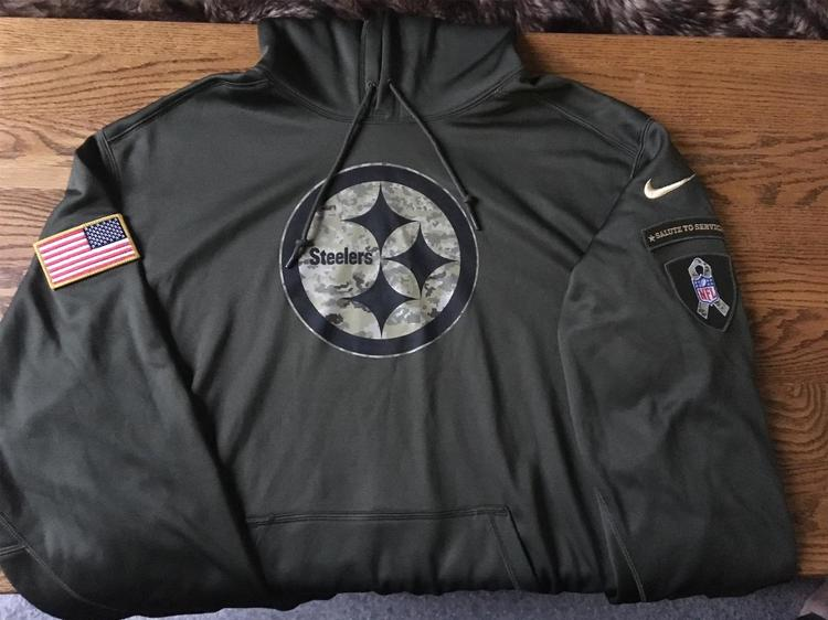 nike steelers sweatshirt