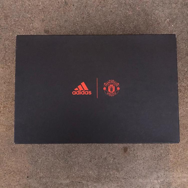 Adidas Manchester United Ultraboost Triple Black Clima Shoes Sz 10 Footwear Turfs Indoor Sneakers Training Sidelineswap