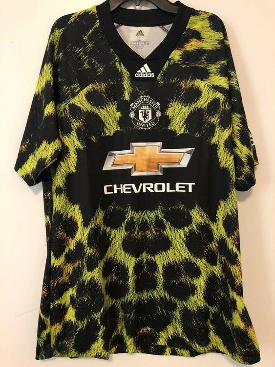 Manchester United Ea Sports Jersey Shirt Top Adidas Ea2117 Mens Large