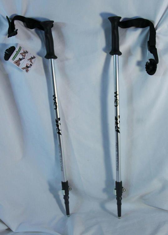 "Ski poles Telescopic adjustable kids junior ski poles 32/"" to 42/"" ski Mask new"